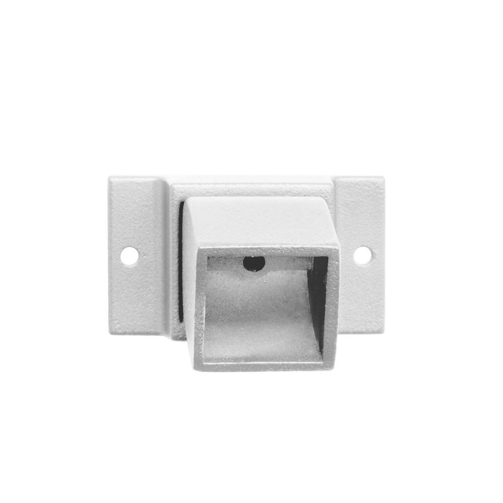 Allure Aluminum 2 in. x 2 in. White Adjustable Wall Flange-DISCONTINUED