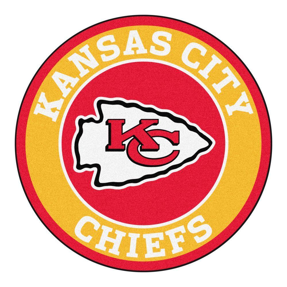 Fanmats Nfl Kansas City Chiefs Gold 2 Ft 3 In X 2 Ft 3