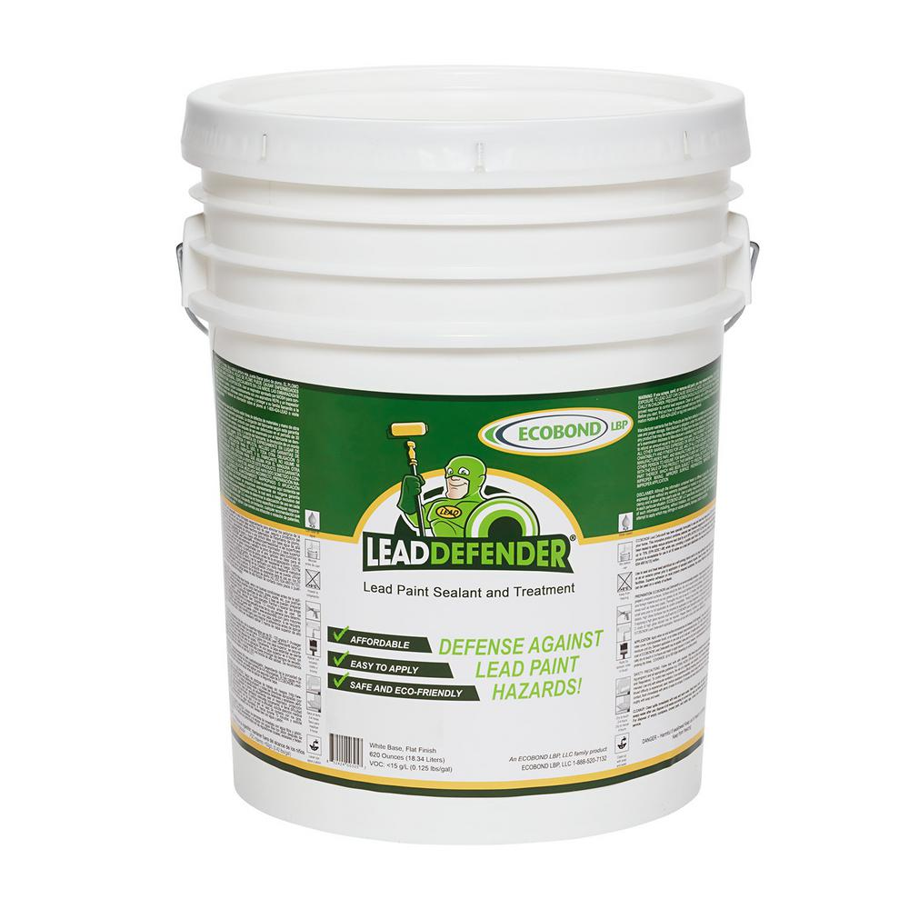 ECOBOND LBP Lead Defender 5-Gal Off White Flat Lead Based Paint Treatment and Sealant