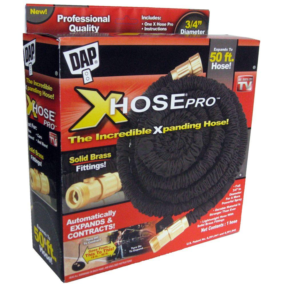X hose or stretch hose