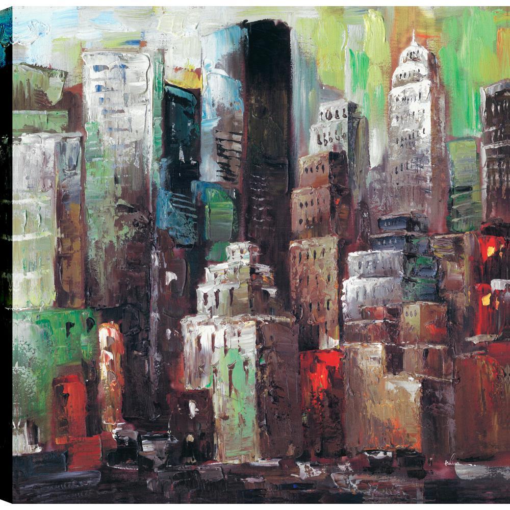 High Rise I, Landscape Art, Canvas Print Wall Art Dcor 24X24 Ready to hang by ArtMaison.ca