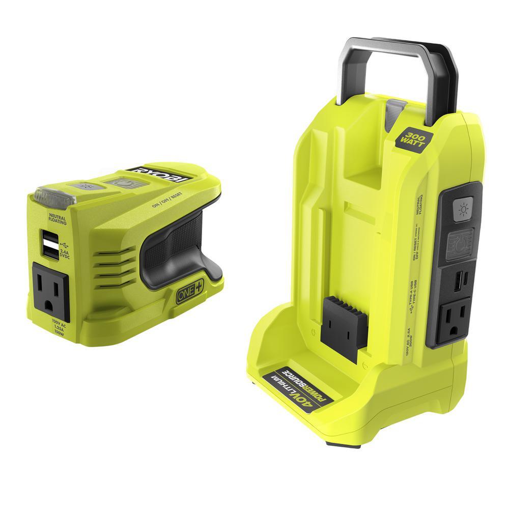 300-Watt and 150-Watt Powered Inverter