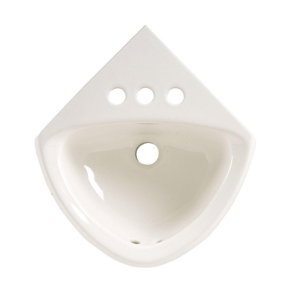 American Standard Corner Minette Wall-Mount Bathroom Sink...