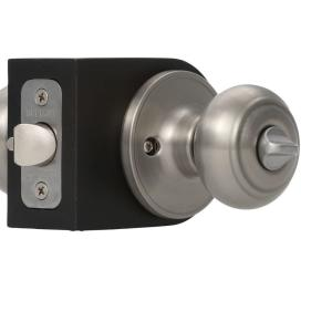 Defiant Hartford Satin Nickel Entry Door Knob Tgx200 The
