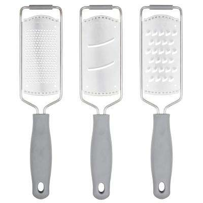 Etched Graters with Safety Covers (Set of 3 )