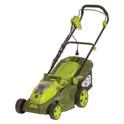 15 in. 40-Volt 6.5-Amp Hybrid Battery Walk Behind Push Mower - 4.0 Ah Battery/Charger Included