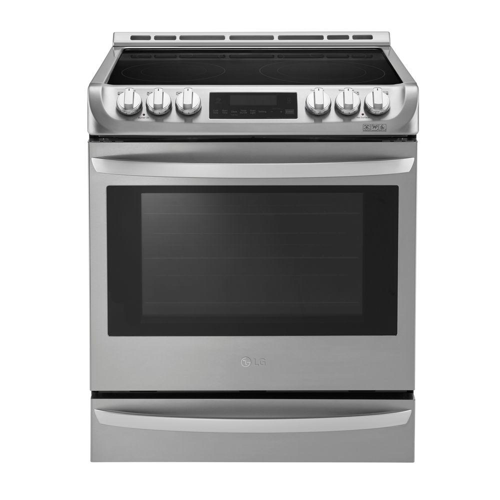 6.3 cu. ft. Slide-In Electric Range with ProBake Convection Oven, Self