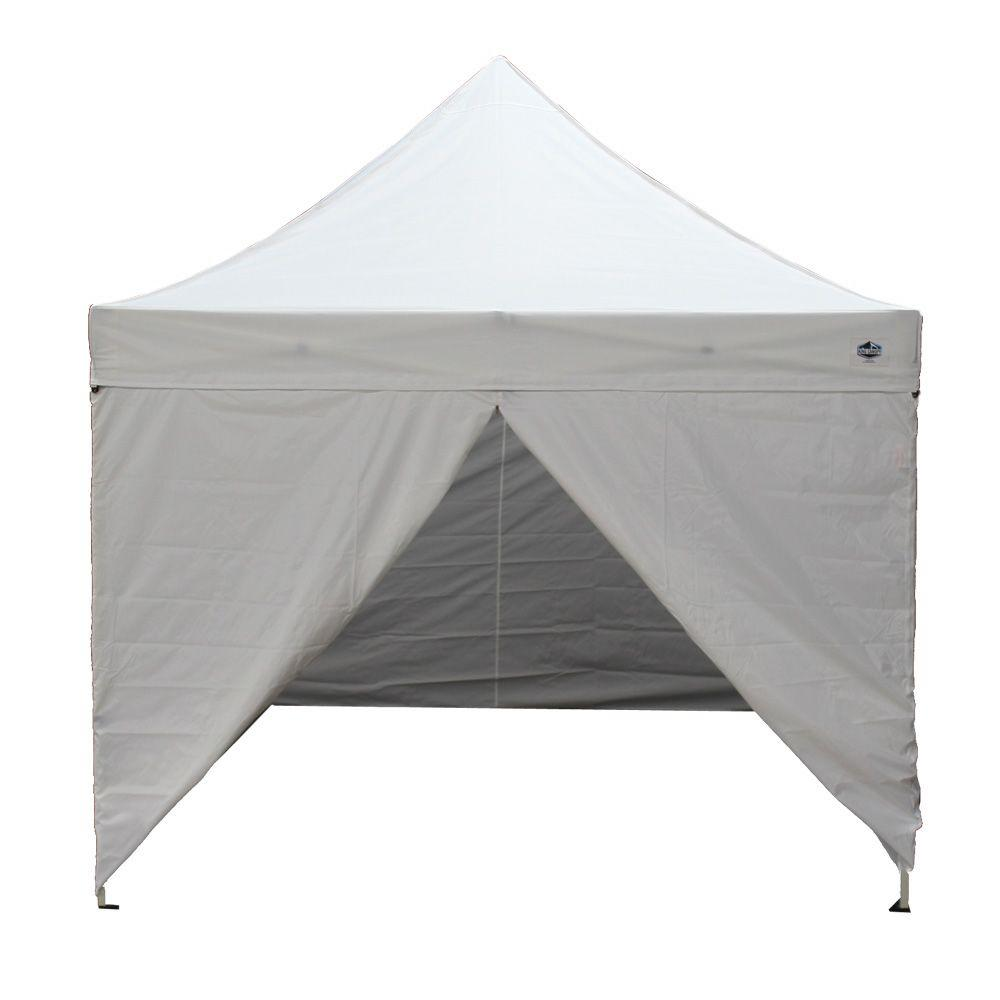 King Canopy Tuff Tent 10 ft. W x 10 ft. D Fully Enclosed Instant Canopy