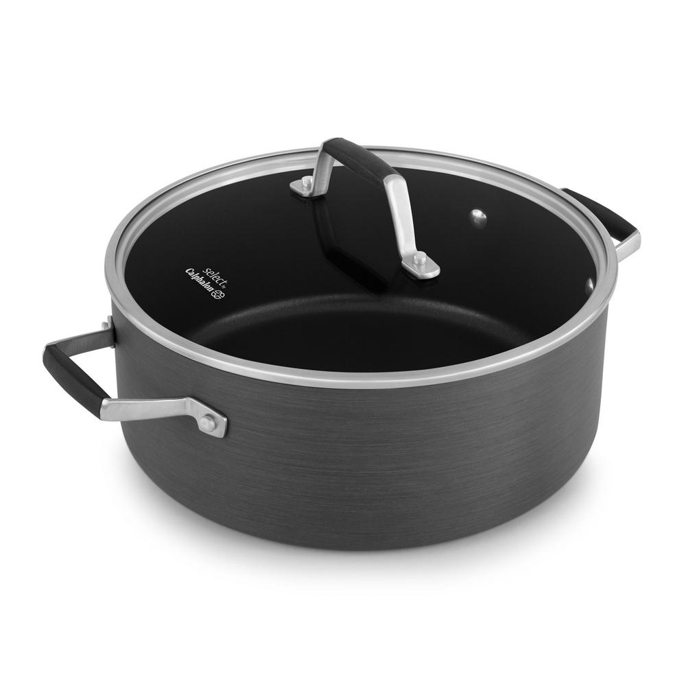 Select 5 Qt. Hard Anodized Nonstick Dutch Oven with Cover