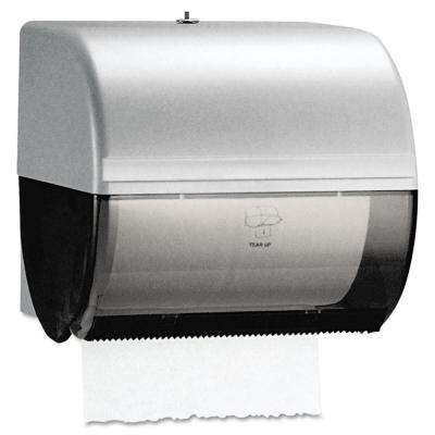 10-1/2 in. x 10 in. x 10 in. In-Sight Omni Roll Towel Dispenser in Smoke/Gray