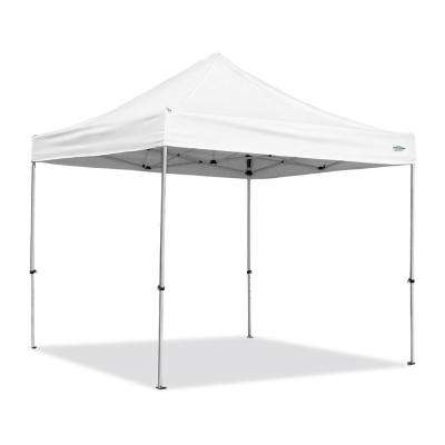 Alumashade with Sidewalls 10 ft. x 10 ft. White Instant Canopy