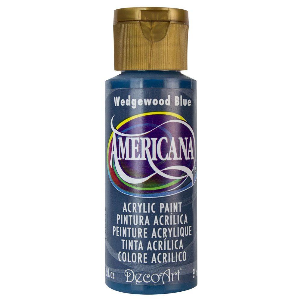 Americana 2 oz. Wedgewood Blue Acrylic Paint