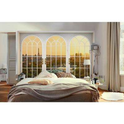 145 in. H x 98 in. W Belle Vue Wall Mural