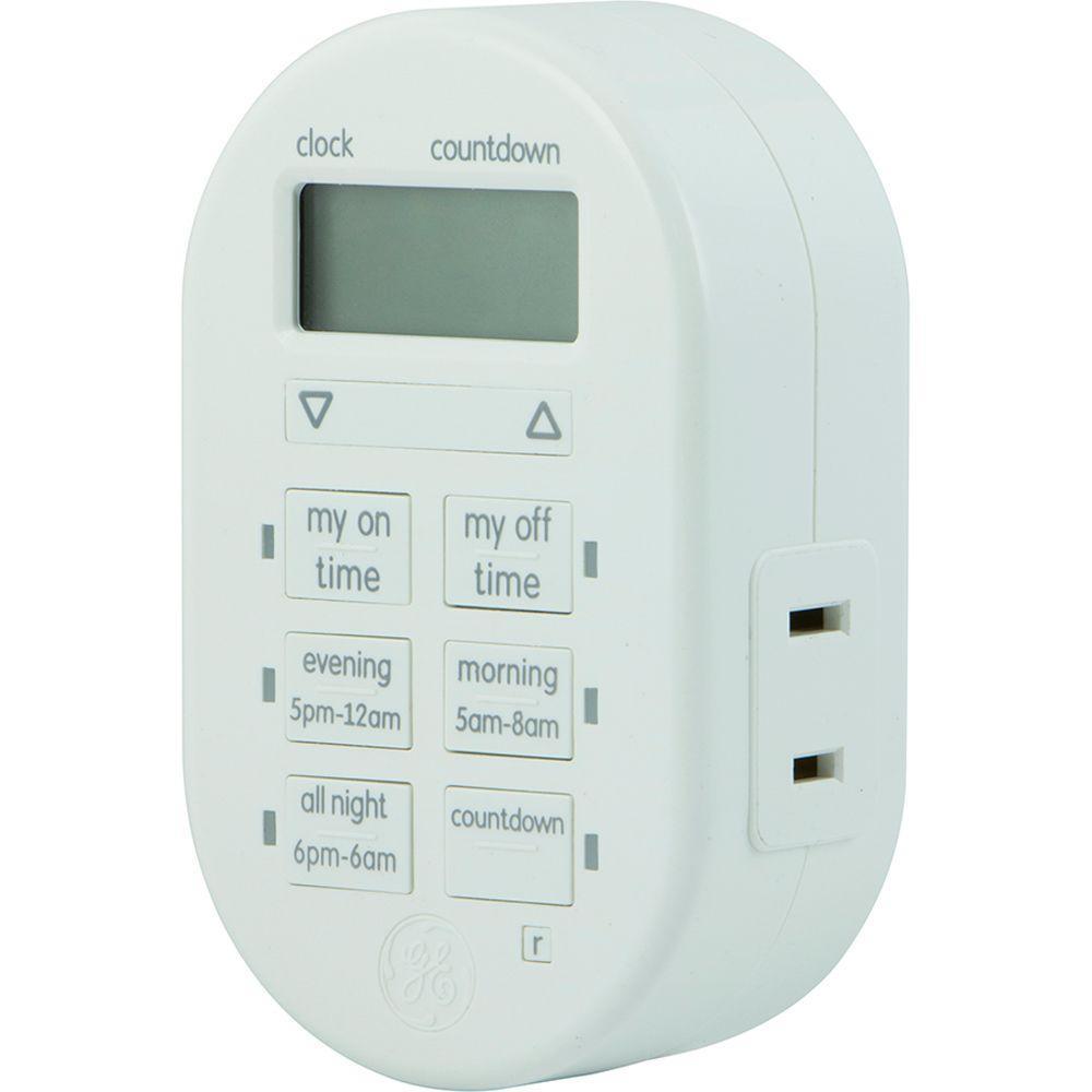 15 Amp Plug-In Indoor Digital Timer