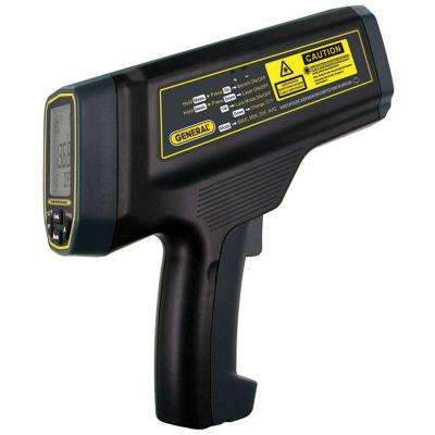 Laser Temperature Non-Contact Infrared Thermometer with Dual Lasers, 100:1  Spot Ratio, Maximum Temperature 4,352 Degree