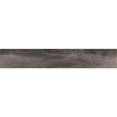 Upscape Nero 3 in. x 18 in. Glazed Porcelain Floor and Wall Tile (9.75 sq. ft. / case)