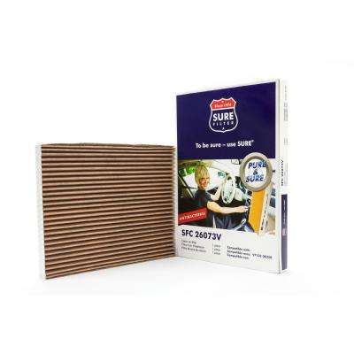 Replacement Antibacterial Cabin Air Filter for Wix 24761 Purolator C26073 Fram CF11184