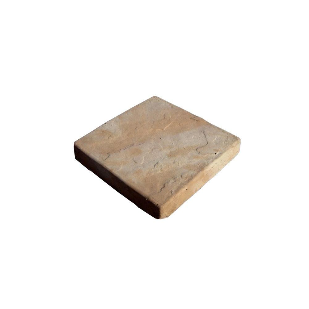 8 in. x 8 in. Tan Blend Sandcrete Concrete Stepping Stone