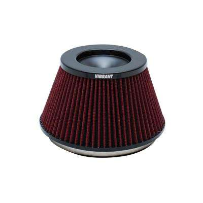 The Classic Perf Air Filter 5in OD Conex3-5/8in Tallx6in ID Bellmouth VelocityStack10950-52