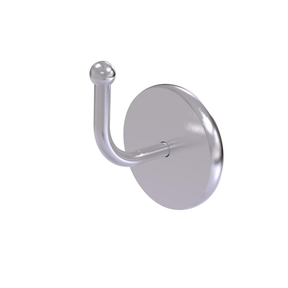 Allied Brass Skyline Collection Wall-Mount Robe Hook in Satin Chrome