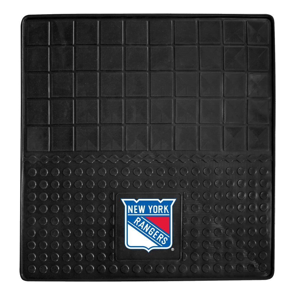 Fanmats New York Rangers Heavy Duty Vinyl 31 In X 31 In