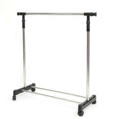 Nice Extend Stainless Steel Adjustable Garment Rack ...