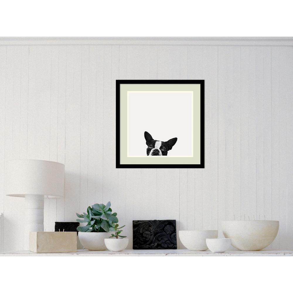 Framed art art the home depot 20 in x 20 in outer size loyalty dog jeuxipadfo Choice Image