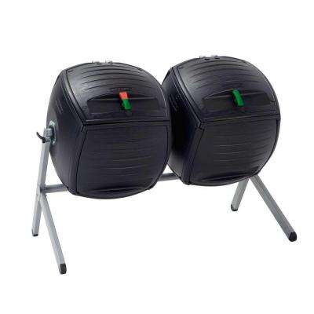 100 Gal. Dual Bin Compost Tumbler