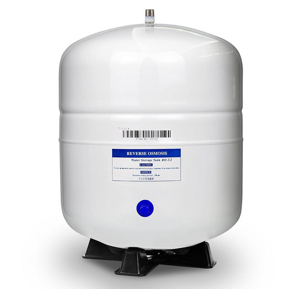 3.2 Gal. Metal Reverse Osmosis Water Storage Tank