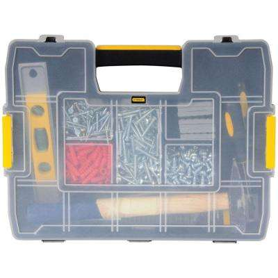 SortMaster Light 12-Compartment Small Parts Organizer
