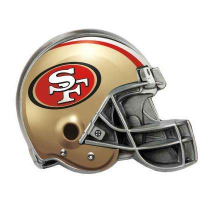 San Francisco 49ers Helmet Hitch Cover