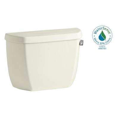 Wellworth Classic 1.0 GPF Single Flush Toilet Tank Only in Biscuit