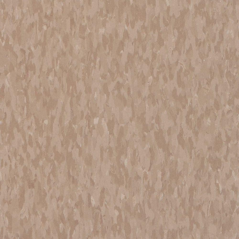Armstrong Armstrong Imperial Texture VCT 12 in. x 12 in. Cafe Latte Standard Excelon Commercial Vinyl Tile (45 sq. ft. / case), Café Latte