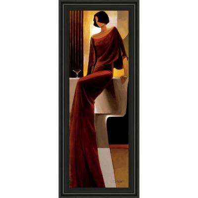 """18 in. x 42 in. """"Poise"""" by Keith Mallet Framed Printed Wall Art"""