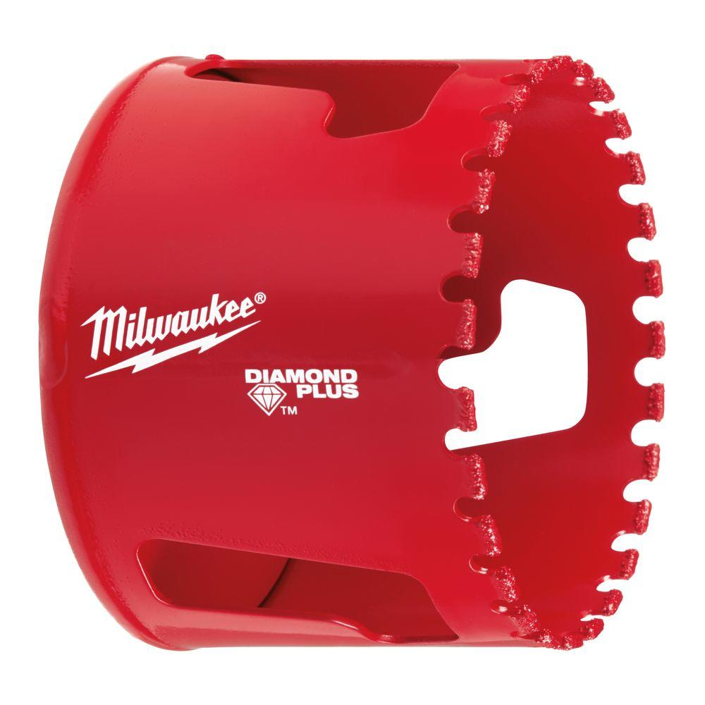 Milwaukee 2 1 2 In Diamond Hole Saw 49 56 5660 The Home