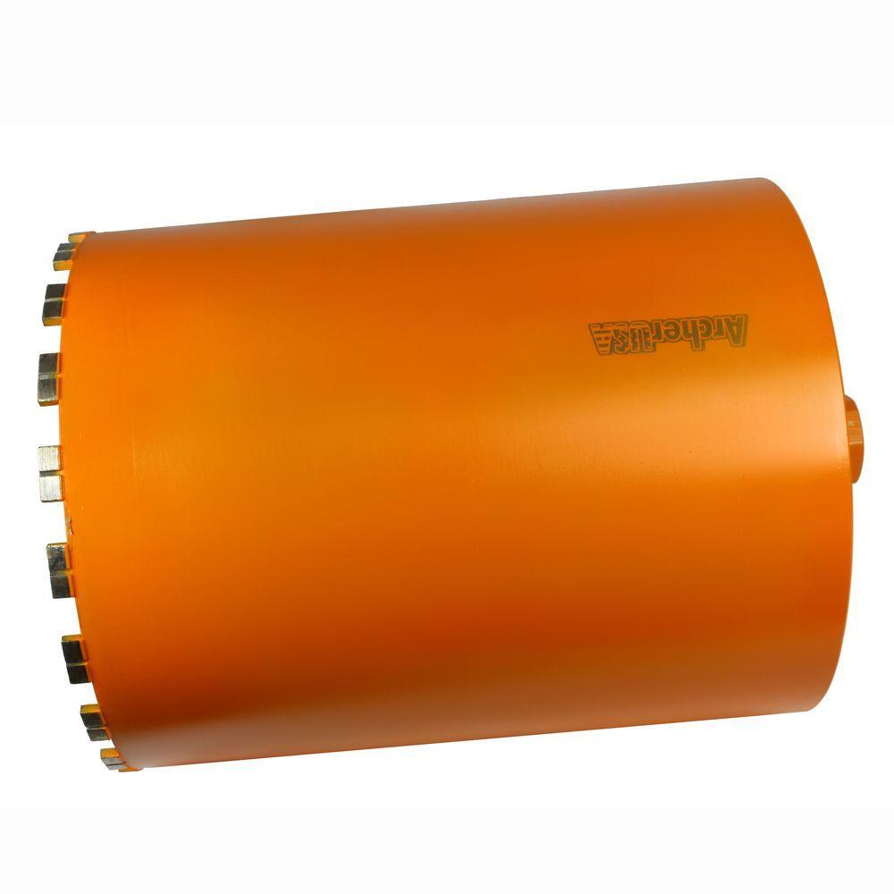 12 in. Diamond Turbo Core Drill Bit for Concrete Drilling