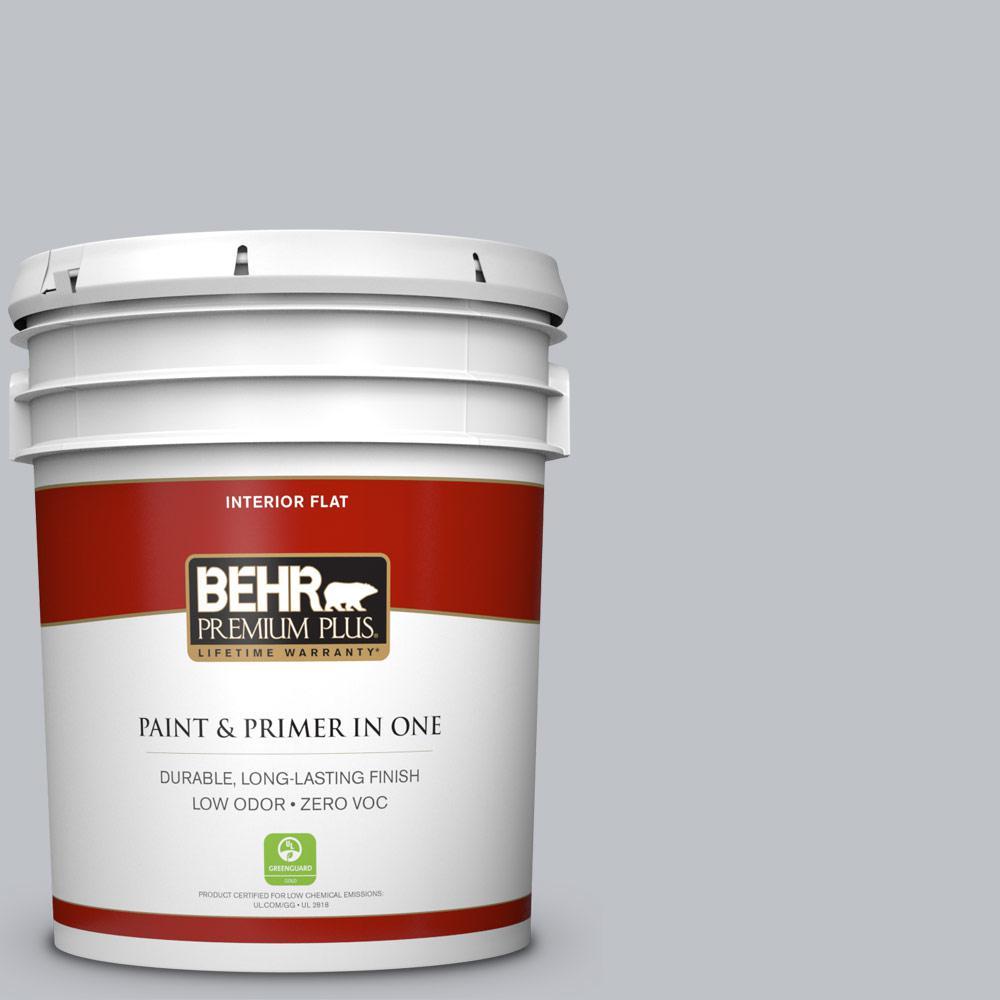 BEHR Premium Plus 5-gal. #N510-2 Galactic Tint Flat Interior Paint