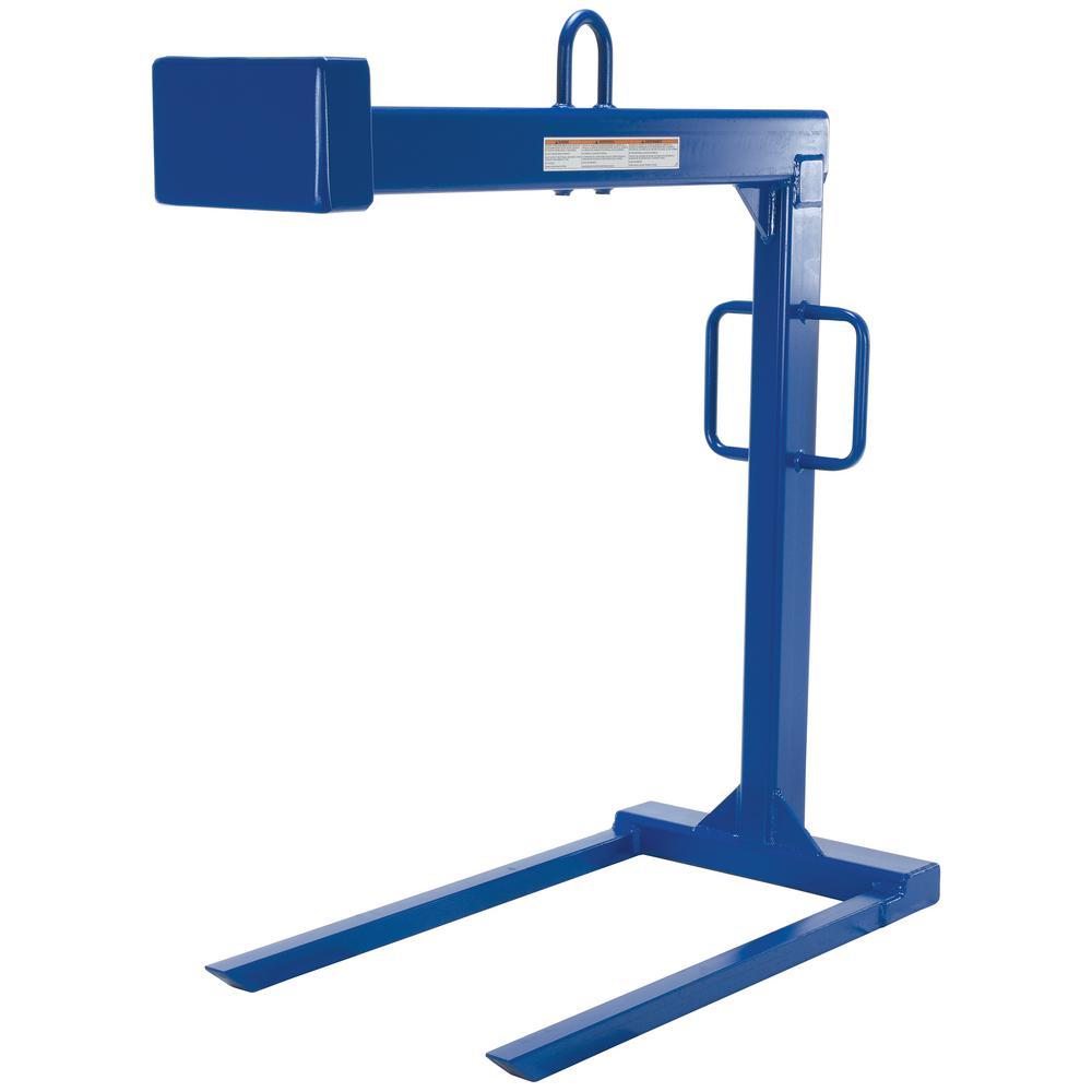 Vestil 2,000 lb. Capacity Pallet Lifter with 48 inch Forks by Vestil