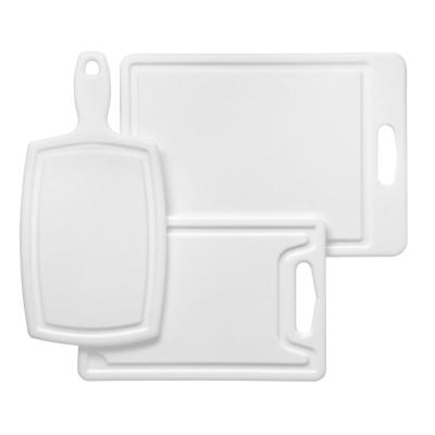 Polyworks 3-Piece Poly Cutting Board Set