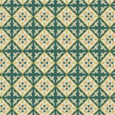 Khalid Moroccan Tile Fabric by the Yard