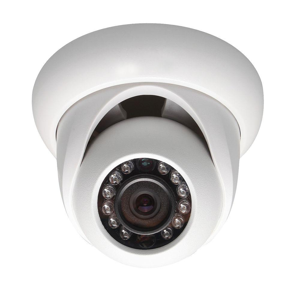 SeqCam Wired 1.3 Megapixel HD Network IR Mini Dome Indoor or Outdoor Standard Surveillance Camera