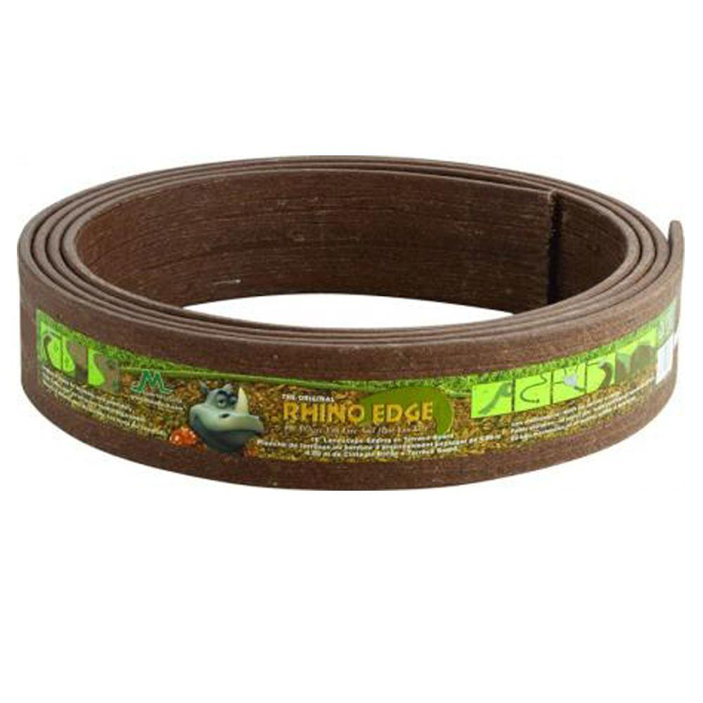 Rhino Edge 3 1/2 in. x 16 ft. Coil Chestnut Landscape