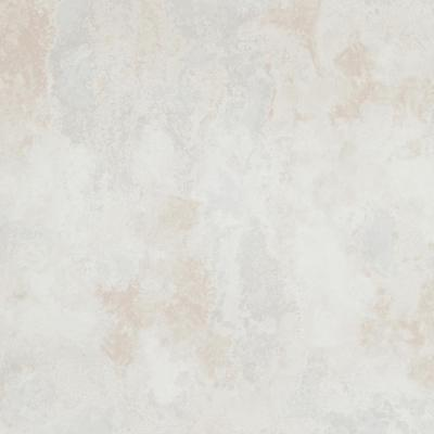 Concrete Cloudy Abstract White and Beige Wallpaper