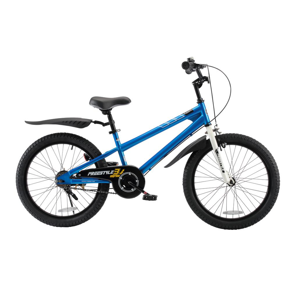 BMX Freestyle Boy's and Girl's Bike 20 in. wheels in Blue