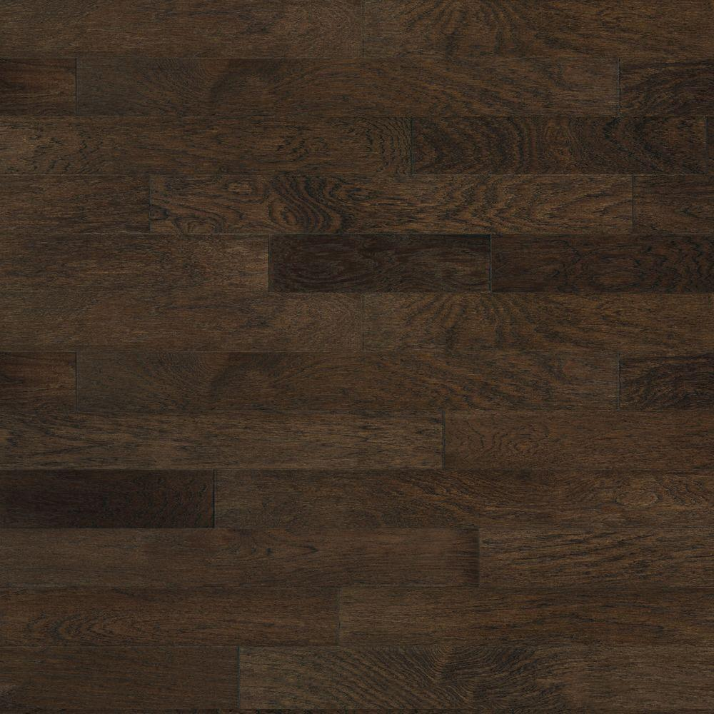 Heritage Mill Brushed Vintage Hickory Ale 3/8 in. x 4-3/4 in. x Random Length Engineered Click Hardwood Flooring (33 sq. ft. / case)