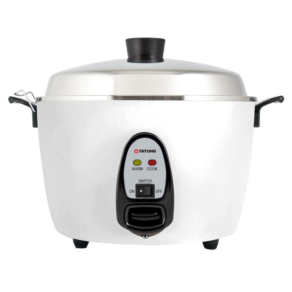 Tatung 6 cup multi cooker tac 6g sf the home depot for Multi cooker