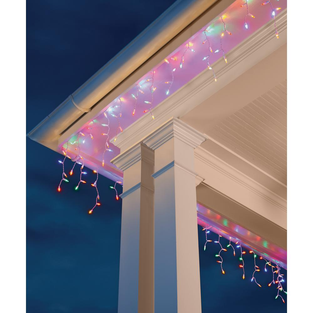 Home Accents Holiday 300l Led Smooth Mini Icicle Super