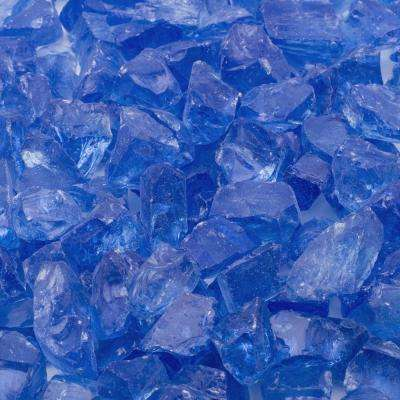 1/2 in. 20 lbs. Medium Royal Blue Landscape Glass
