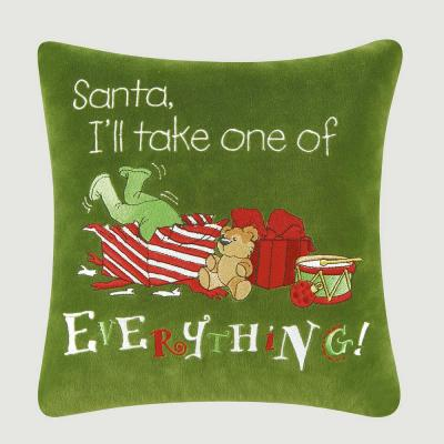 Everything Green Pillow 10 in. x 10 in.