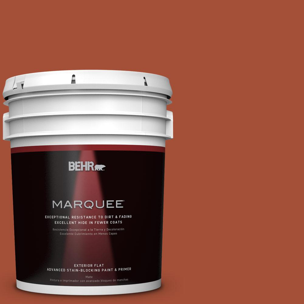 5-gal. #S-H-210 New Penny Flat Exterior Paint